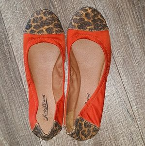 Lucky Brand Shoes - Lucky Brand/ cheetah cork ballet slipper Sz 7.5M